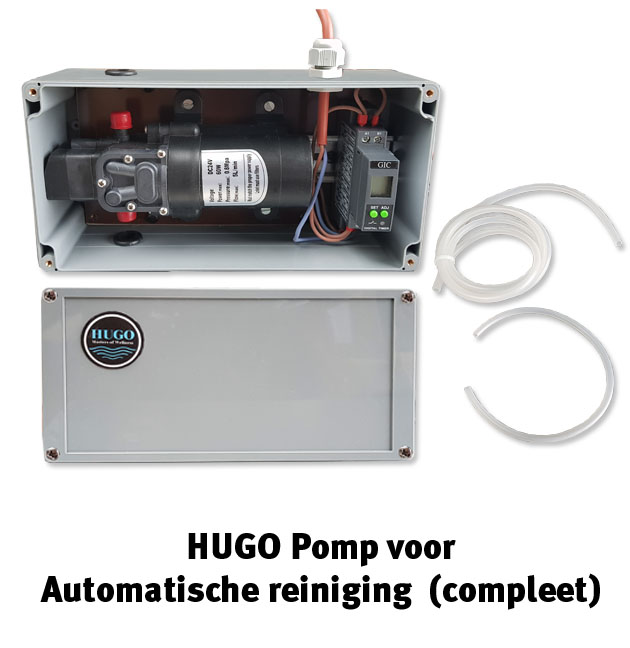 HUGO pomp automatische reiniging