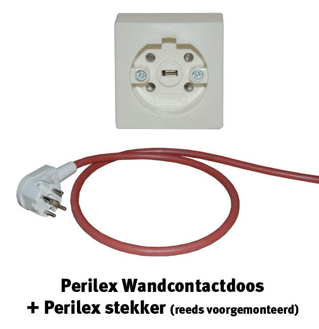 Perilex wandcontactdoos