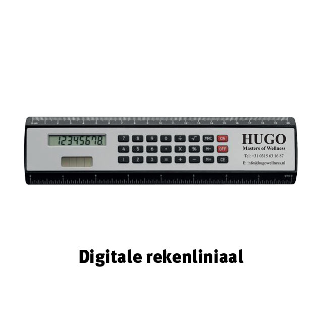 Digitale rekenliniaal