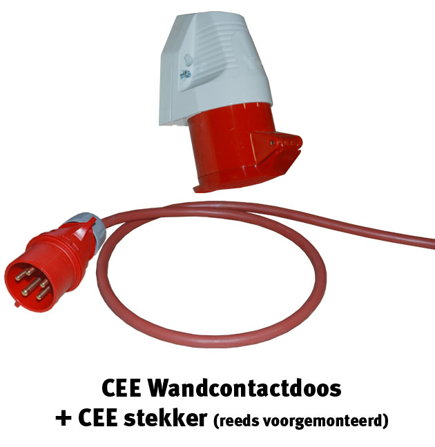 CEE wandcontactdoos
