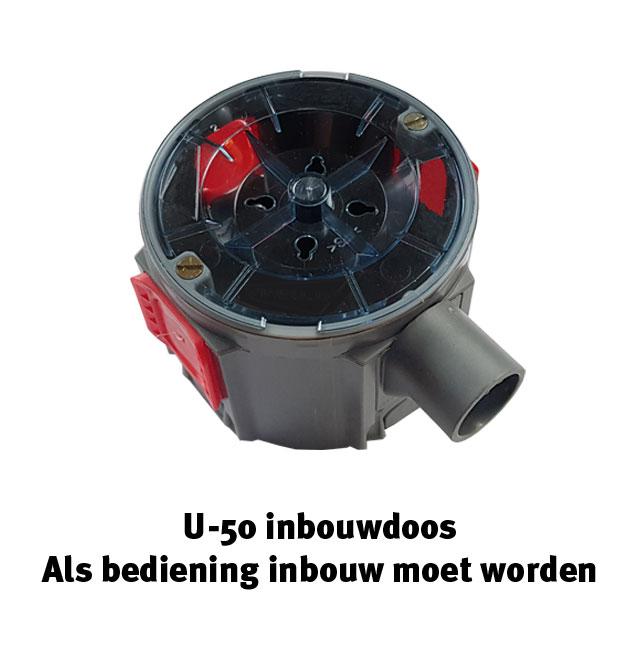 U-50 inbouwdoos
