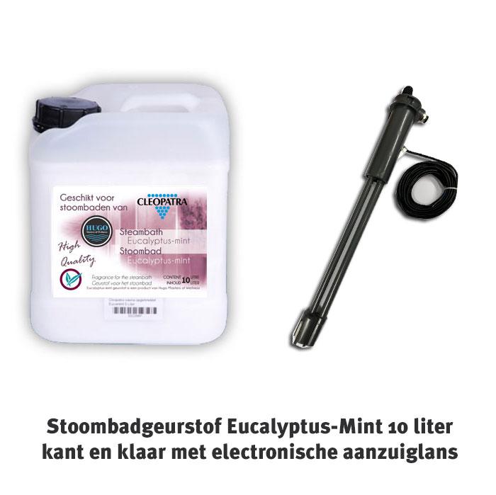 Stoombadgeurstof eucalytus mint + elektronische aanzuiglans