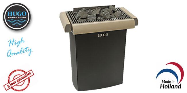 HUGO Sound 6.0 kW 400v luxury blank espen sauna kachel