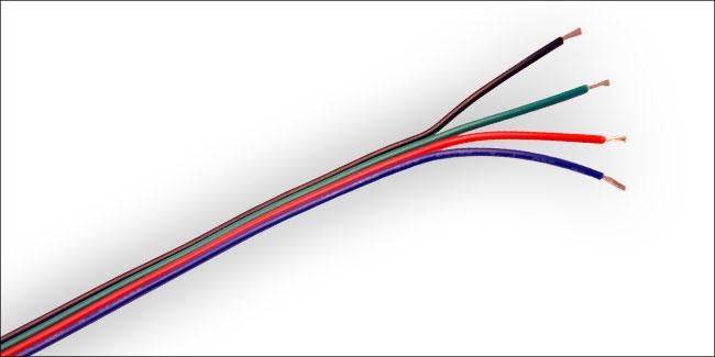 Aansluitkabel LED kleurenverlichting 1M