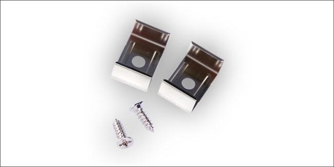 Bevestigingsclips voor LED profiel