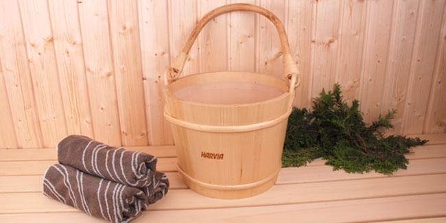 Harvia sauna emmer 12 liter