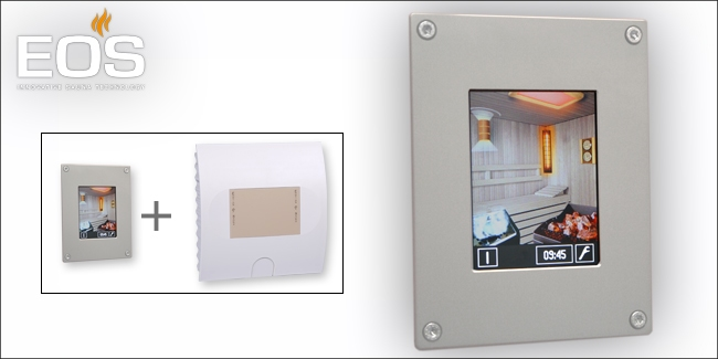 EOS Infratouch sauna/infrarood besturing