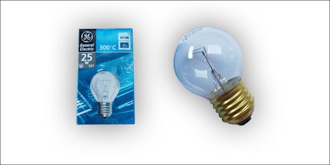 Lamp E27 25 watt tbv sauna armatuur