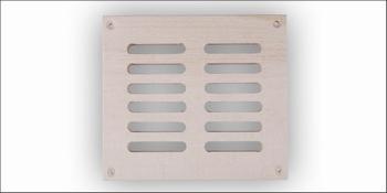 Sauna ventilatierooster vierkant