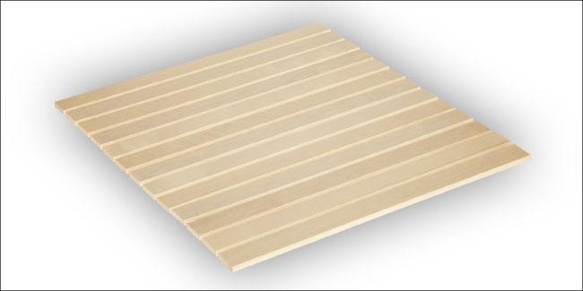 Sauna oprolbare vloermat espen 80 x 90 cm