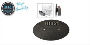Stoomkap HUGO afm. 155 x 60 mm