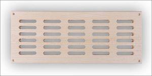 Sauna ventilatierooster groot model